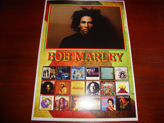 Poster Bob Marley Catch A Fire Bob Marley Rastaman Reggae