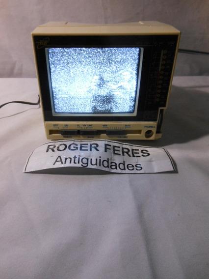 Antiga Tv Televisão 4 Polegadas Tele Portatil