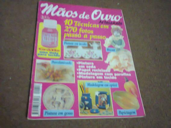 Revista Mãos De Ouro Artesanato Nº 12