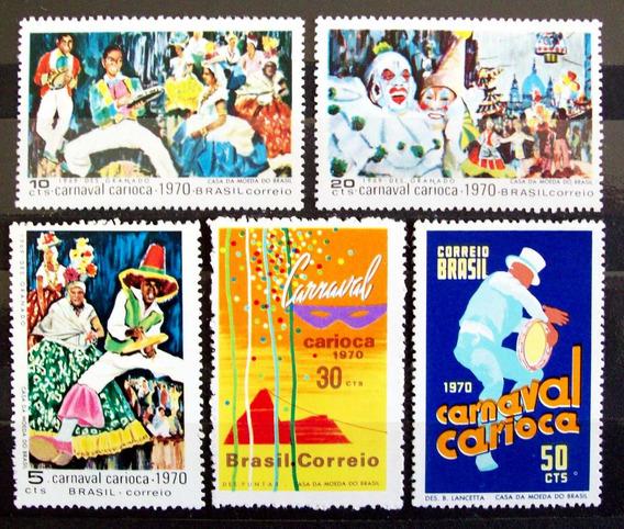 Brasil - Serie Yv. 918-22 Carnaval Carioca Mint L3711