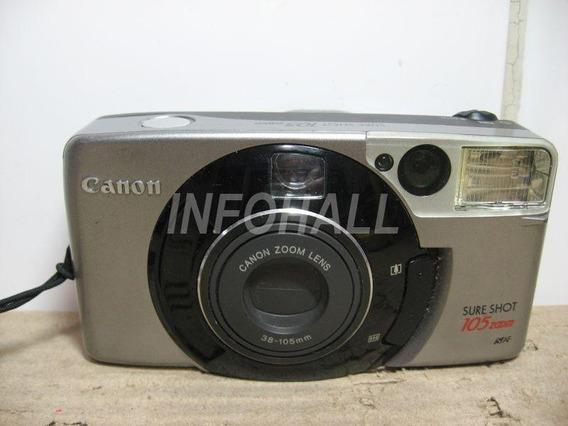 Câmera Analógica Canon Sure Shot 105 No Estado