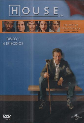 House - 1ª Temporada - Disco 1 - Dvd - 4 Episódios