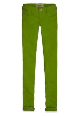 Calça Hollister By Abercrombie Women Jegging Verde