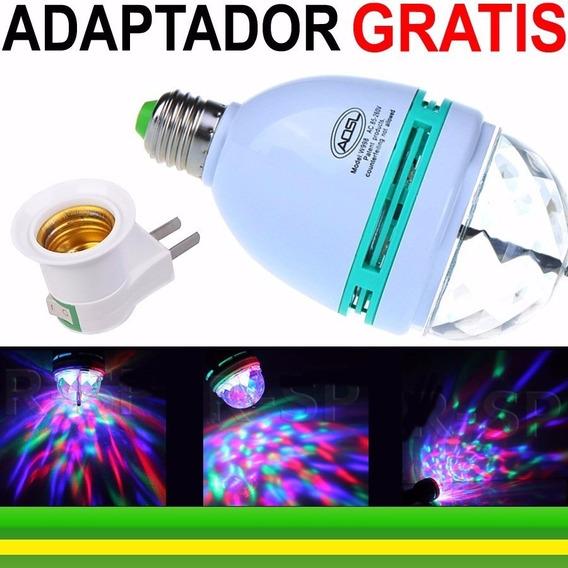 Lampada Led Rgb Audio Auto Efeito Nao Moom Scan Strobo Co02