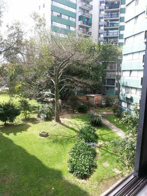 Depto Muy Luminoso, Con Jardines Zona Unicenter