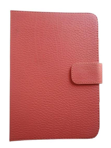 Capa Case Livro 8 Genesis Gt-8230 Rosa Croco Promoção