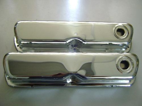 Tapa Valvula Ford Para 302-351 Cromada