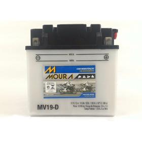 Bateria Moura Jet Ski Sea Doo Gti 130 Se Mv19d Ref Yb 16clb