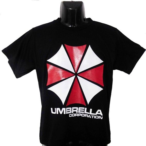 Camiseta Umbrella Corporation De Resident Evil Talla S