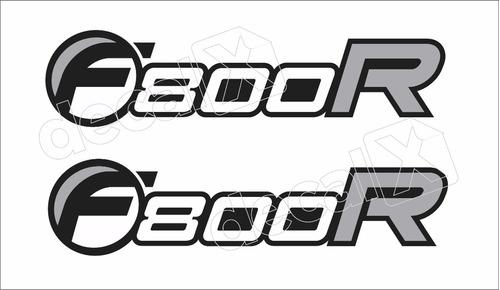 Imagem 1 de 2 de Emblema Adesivo Bmw F800r Par Bwf800r02