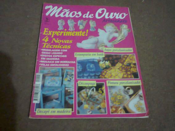 Revista Mãos De Ouro Artesanato Nº 05 - Nova Cultura