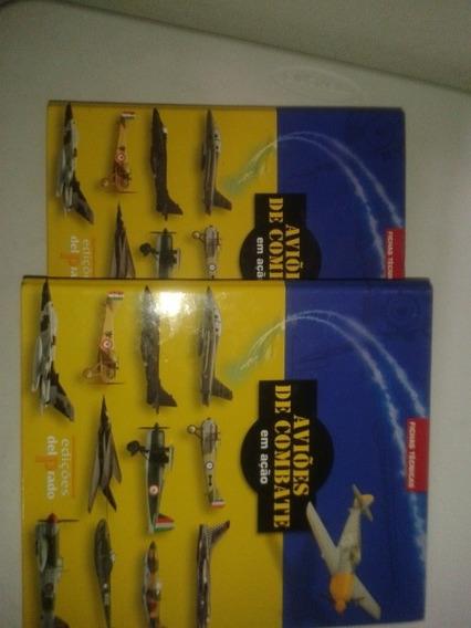 Dois Fichários Aviões De Combate Em Ação. Fichas Técnicas...