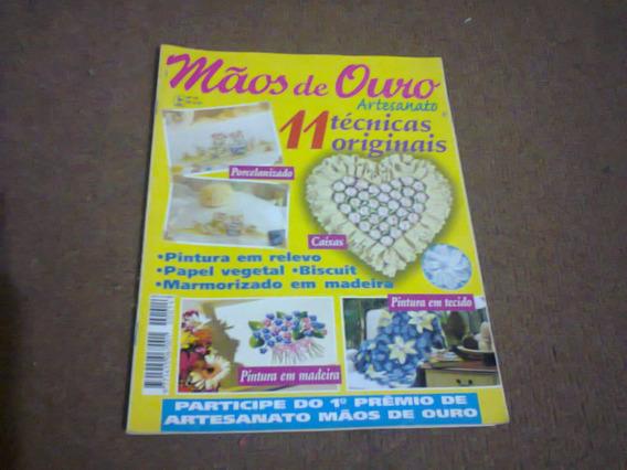 Revista Mãos De Ouro Artesanato Nº 14 - Nova Cultura