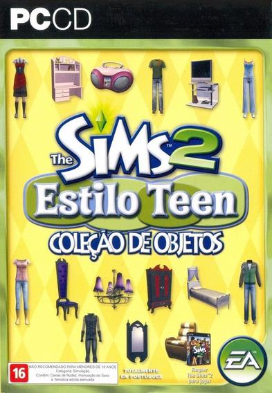 Game Pc Lacrado The Sims 2 Estilo Teen Objetos Cd-rom