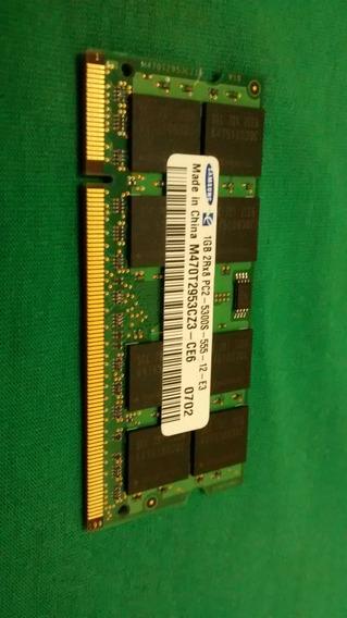 Memoria P Notebook 1bg 2rx8 Pc2-5300s-555-12-e3