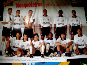 Poster Corinthians Campeão 1995
