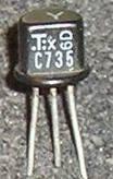 Transistor 2sc735