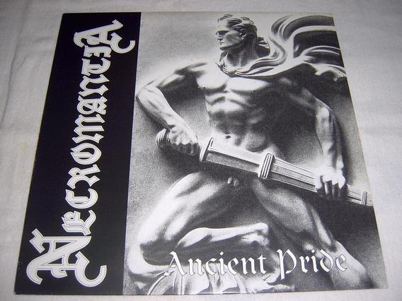 Ep Necromantia - Ancient Pride 1st Press 97 Fra Black Metal