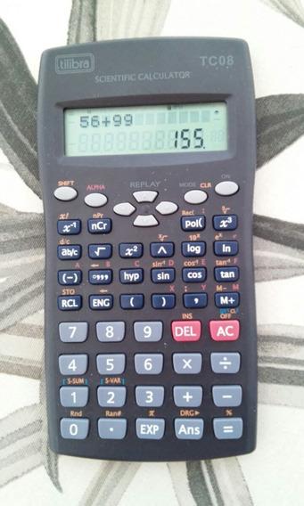 Calculadora Científica Tilibra Tc08 Zerada