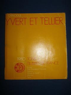 Catalogo De Sellos Yvert Et Tellier Francia 1980 Filatelia