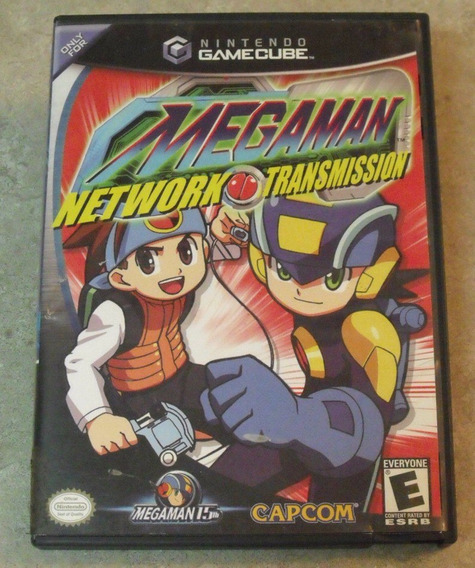 Game Cube: Megaman Network Transmission Americano Na Caixa!!
