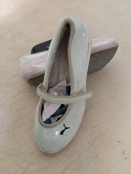 Zapato De Nena De Marca Usado Talle 33 . Se Entrega Limpio