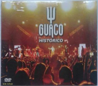 Guaco. Histórico En Vivo . Dvd Original, Nuevo, Sellado