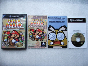 Game Cube: Paper Mario Thousand-year Door Original Completo!