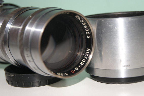 Nikon Nikkor - Q-c 1:3.5 - 13,5cm Rangefinder