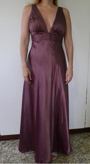 Vestido Festa Longo Usado 1 Vez Madrinha Formatura Casamento