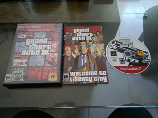 Grand Theft Auto Iii Completo Para Play Station 2