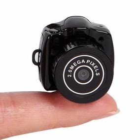 Mini Câmera Espiã (menor Do Mundo)