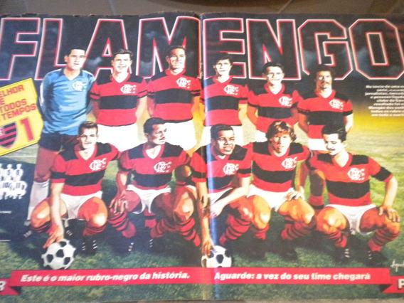 Poster Melhor Flamengo De Todos Os Tempos Placar
