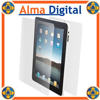 Kit 2en1 Protector Pantalla Anverso Apple iPad 1g Inclu Paño