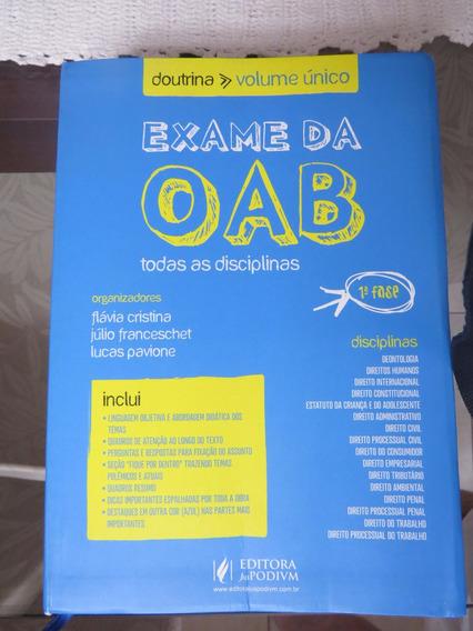 Livro Exame Da Oab - Doutrina - Vol. Único 2012