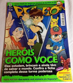 Revista Recreio Ano9 Nº448 Heróis Como Você Games Filmes Hqs