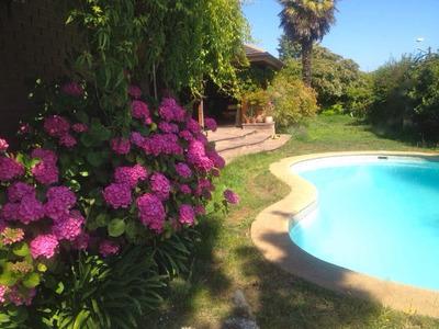 Arriendo Casa Cabaña Playa Reñaca,viña Del Mar