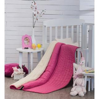 Cobertor Para Bebe Vianney Disponible En Rosa Y Beige