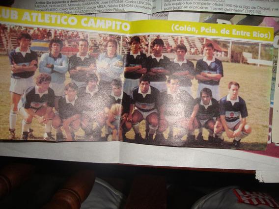 Atletico Campito De Colón - Entre Rios Mini Posters -