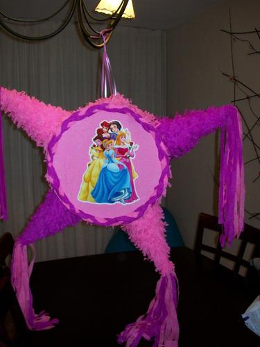 Imagen 1 de 3 de Piñata Princesas