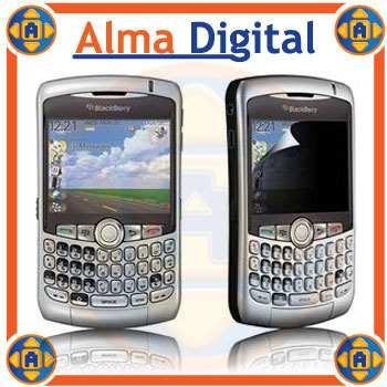 2x1 Lamina Protecto Pantalla Antiespia Blackberry Curve 8300