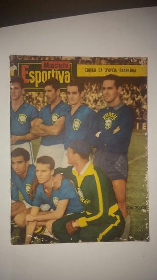 Manchete Esportiva Ediçao Epopeia Brasileira