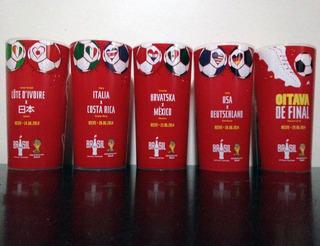 Copo Copa Do Mundo 5 Jogos Recife - Pernambuco - Coca Ccc14
