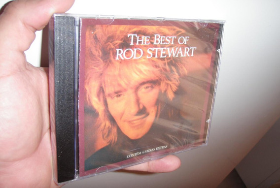 Cd The Best Of Rod Stewart Original E Lacrado!