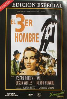 Dvd - El Tercer Hombre - Orson Wells