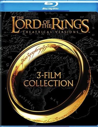 Imagen 1 de 3 de Blu-ray Lord Of The Rings / Señor De Los Anillos / 3 Films