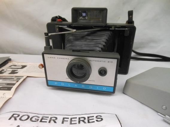 Antiga Camera Fotografica Polaroid 210 Fole