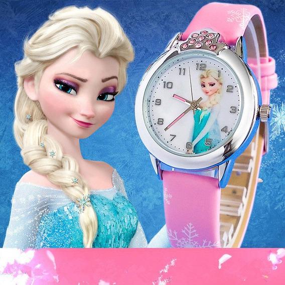 Relojeo Crianças Da Princesa Elsa Anna Prova D Agua