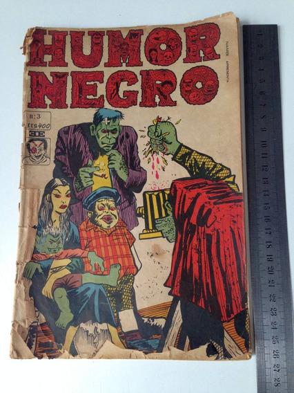 Humor Negro Gibi Antigo Nr 3 1967 Quadrinhos Coleção Raro