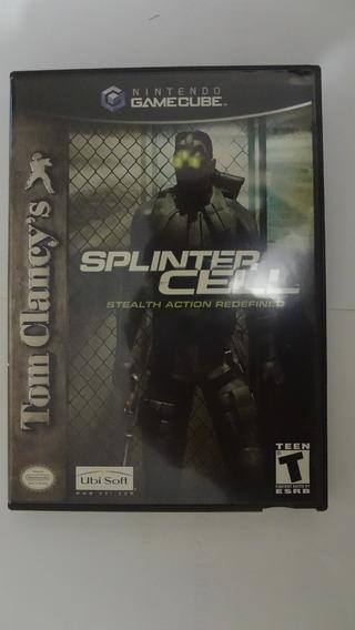 Jogo Splinter Cell Gamecube - Usado E Original